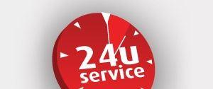 24 uurs service rood